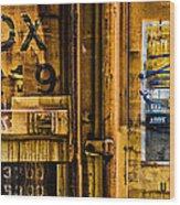 Trainworks.83427 Wood Print by Gary LaComa