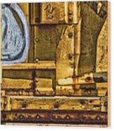 Trainworks.83735 Wood Print by Gary LaComa