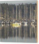 Tramp Harbor Wood Print