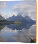 Tranquility Alouette Lake - Golden Ears Prov. Park, British Columbia Wood Print