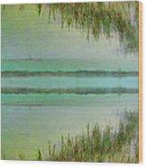Tranquility Bay Wood Print