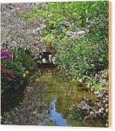 Tranquility Garden Wood Print