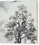 Tranquility II Wood Print by Melodye Whitaker