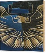 Trans Am Eagle Wood Print