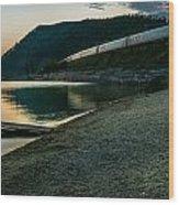 Trans Siberian Sunset Wood Print