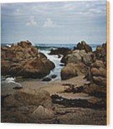 Transcend - Monterey, California Wood Print