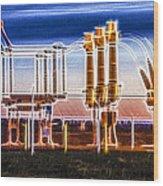 Transfer Of Power Wood Print