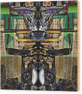 Transformers Transition Hcc Sw Parking Lot  Wood Print