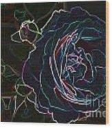Transparent Rose Wood Print