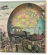 Transportation Wood Print by Gary Grayson
