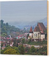 Transylvania Wood Print