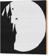 Transylvanian Moon Wood Print