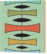 Trapezoids 2 Wood Print