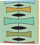 Trapezoids Wood Print