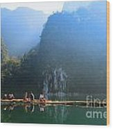Travel In South Of Thailand Wood Print