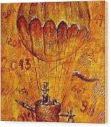 Travel In Time 651 - Marucii Wood Print
