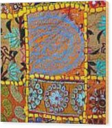 Travel Shopping Colorful Tapestry 9 India Rajasthan Wood Print