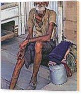 Travelin' Man II Wood Print