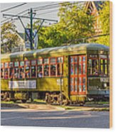 Traveling In New Orleans Wood Print