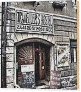 Travellers Hostel - Cesky Krumlov Wood Print