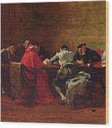 Treason, 1867 Wood Print