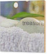 Treasure Wood Print