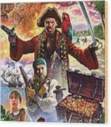 Treasure Island Wood Print by Steve Crisp
