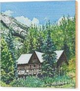 Treasured Memories Wood Print