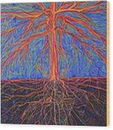 Tree As It Is Wood Print