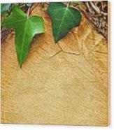 Tree Background Wood Print