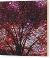 Tree Emboss Wood Print