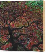 Tree Fabrica Abstract Graphic Wood Print