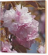 Tree Flower 01 Wood Print