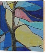 Tree Intensity - Sold Wood Print by Judith Espinoza