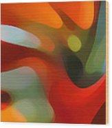 Tree Light 4 Wood Print