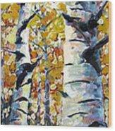 Tree Magic Wood Print