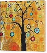 Tree Of Happiness 647 - Marucii Wood Print