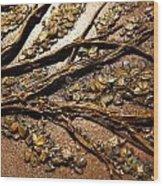 Tree Of Hope Detail Wood Print