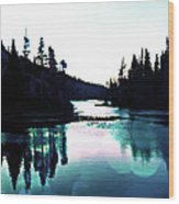 Tree Of Life Digital Paint Effect Wood Print