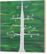 Tree Of Life - Vigor And Vitality Wood Print