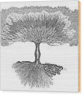 Tree Of Living Wood Print