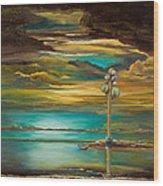 Tree Of Utah Wood Print