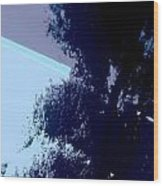 Tree Reflection Abstract Wood Print