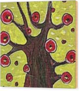 Tree Sentry Wood Print