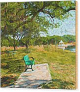 Tree Series 65 Wood Print