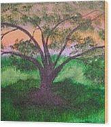 Tree Strong Wood Print