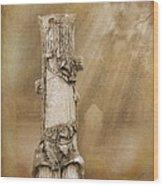 Tree Stump 2 The Forgotten Series 15 Wood Print