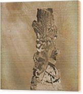 Tree Stump The Forgotten Series 05 Wood Print