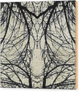 Tree Veins Wood Print