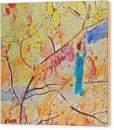 Tree Walking Wood Print